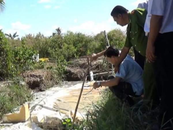 Bắc Giang: Hai bố con tử vong dưới bể biogas 2