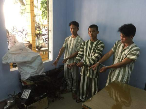 Bắt nhóm trộm xe ở Huế tiêu thụ ở Đà Nẵng 1