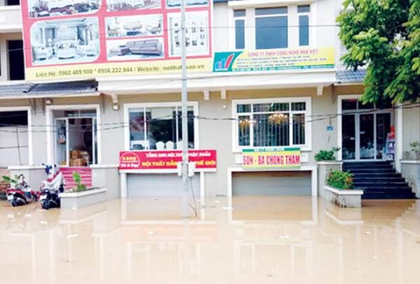 Ðô thị ven đại lộ Thăng Long ngập nặng, vì đâu? 1