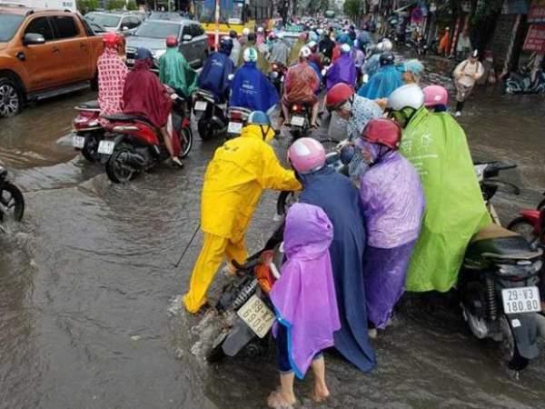Ðô thị ven đại lộ Thăng Long ngập nặng, vì đâu? 2