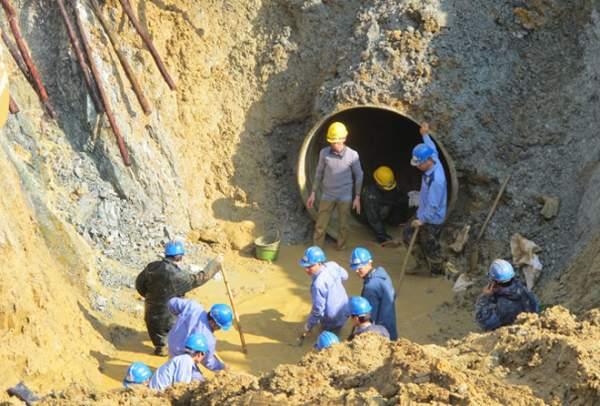 HN nói gì việc chậm tiến độ đường ống nước Sông Đà 2? 1