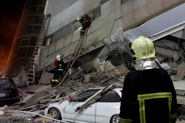 2 người chết, 200 bị thương sau vụ động đất rung chuyển Đài Loan 2