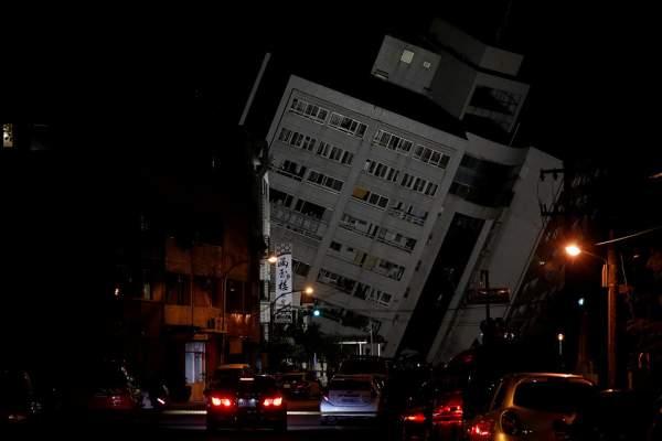 2 người chết, 200 bị thương sau vụ động đất rung chuyển Đài Loan 1
