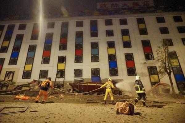 2 người chết, 200 bị thương sau vụ động đất rung chuyển Đài Loan 3