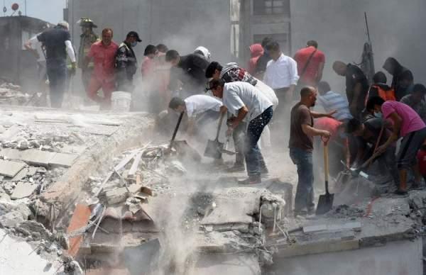 Động đất mạnh ở Mexico: Số người chết đã lên tới hơn 100 người 1