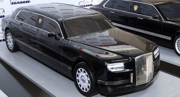 """Vượt """"ải"""" va chạm, siêu xe mới sắp phục vụ Tổng thống Putin 4"""