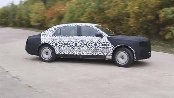 """Vượt """"ải"""" va chạm, siêu xe mới sắp phục vụ Tổng thống Putin 3"""
