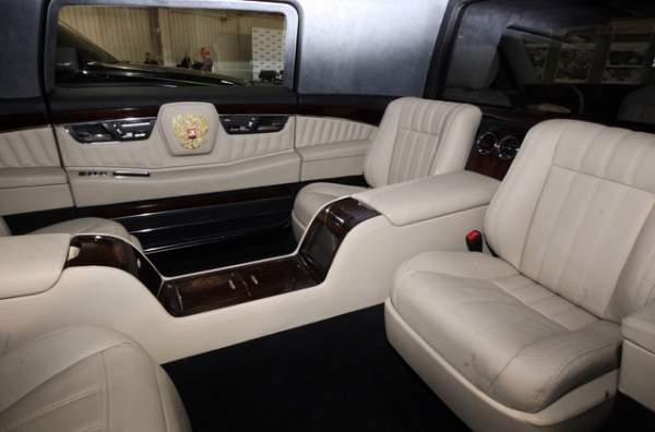 """Vượt """"ải"""" va chạm, siêu xe mới sắp phục vụ Tổng thống Putin 6"""