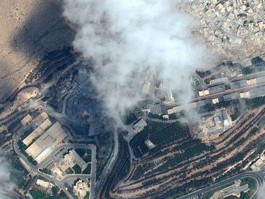 Phương Tây đoán lý do Syria không đánh chặn được tên lửa liên quân 1