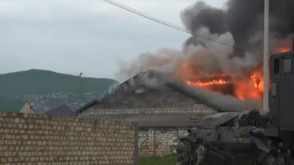 Video đặc nhiệm Nga tiêu diệt nhóm phiến quân khủng bố 1