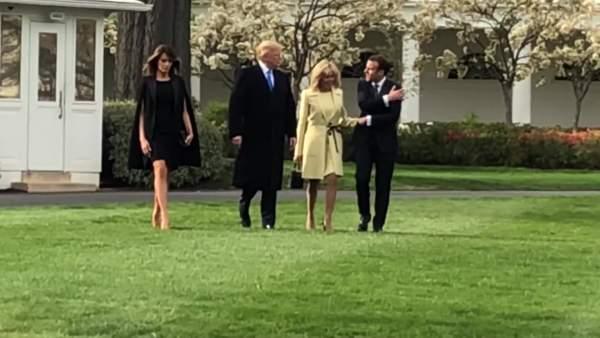 Phía sau cái bắt tay nồng ấm giữa lãnh đạo Mỹ - Pháp 3