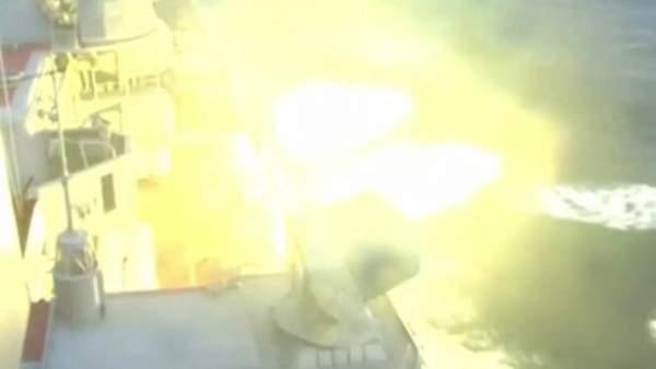 Dàn tàu chiến Nga tập trận bắn đạn thật trên biển Nhật Bản 5