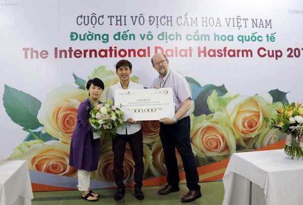 Cuộc thi vô địch cắm hoa Việt Nam 2018 đã tìm ra quán quân 4