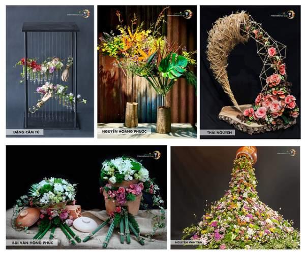 Cuộc thi vô địch cắm hoa Việt Nam 2018 đã tìm ra quán quân 1