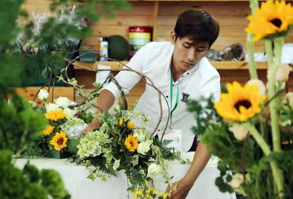Cuộc thi vô địch cắm hoa Việt Nam 2018 đã tìm ra quán quân 3
