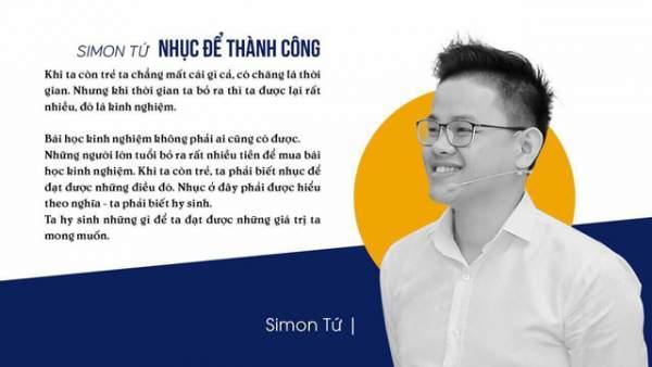 Simon Tứ - Công thức tạo thành công 1
