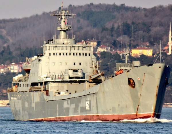Báo Anh: Tàu chiến Nga chở thiết bị quân sự tiến về Syria 1