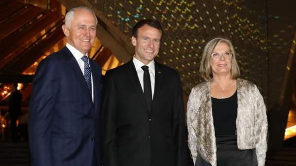 Phu nhân Thủ tướng Australia lên tiếng về lời khen lạ của Tổng thống Pháp 1