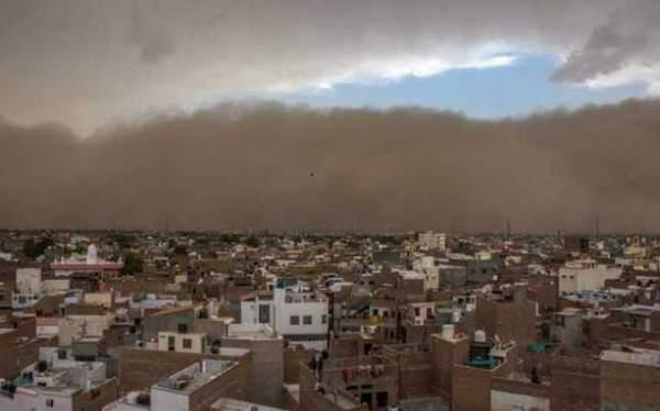Bão cát tấn công Ấn Độ, 77 người thiệt mạng 1