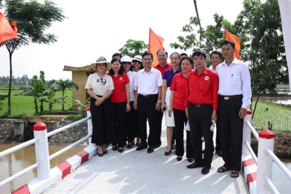 Niềm vui từ những cây cầu mới ở Vĩnh Bảo - Hải Phòng 7