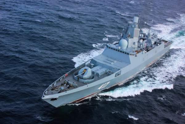 Uy lực công, thủ toàn diện của tàu hộ vệ tàng hình mới gia nhập hải quân Nga 6