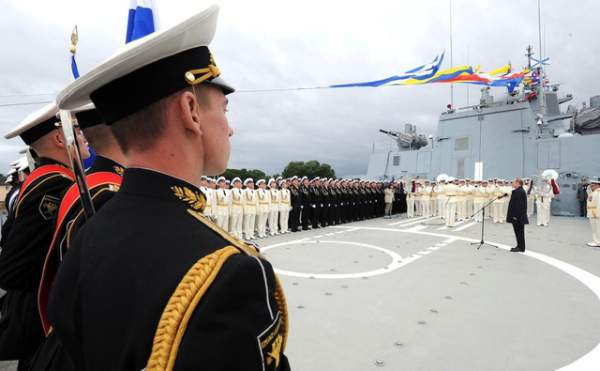 Uy lực công, thủ toàn diện của tàu hộ vệ tàng hình mới gia nhập hải quân Nga 9