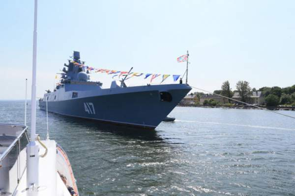 Uy lực công, thủ toàn diện của tàu hộ vệ tàng hình mới gia nhập hải quân Nga 1