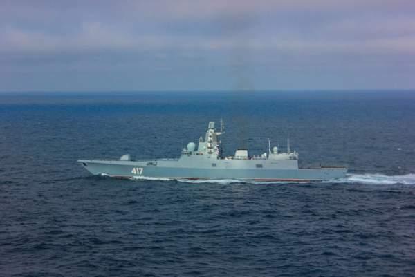 Uy lực công, thủ toàn diện của tàu hộ vệ tàng hình mới gia nhập hải quân Nga 5