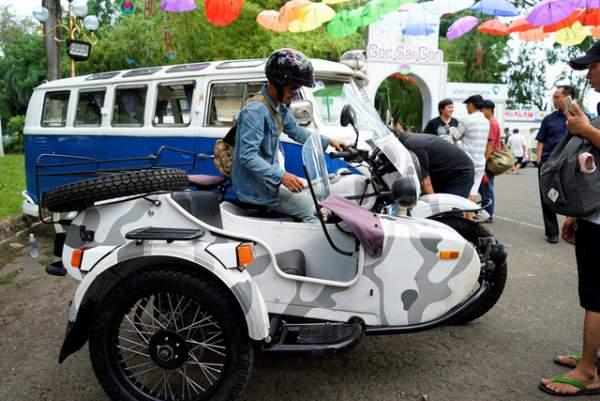 Ngắm những mẫu xe độc, lạ trong ngày hội xe cổ Sài Gòn 15