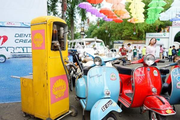 Ngắm những mẫu xe độc, lạ trong ngày hội xe cổ Sài Gòn 14