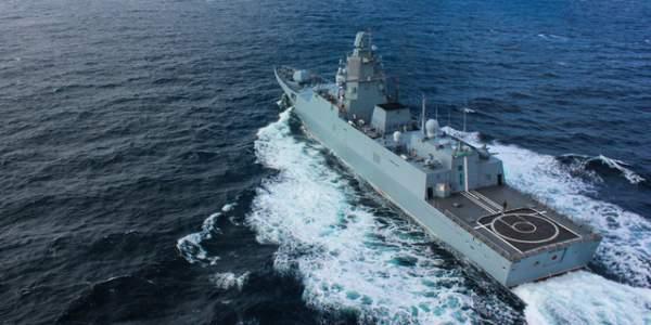 Uy lực công, thủ toàn diện của tàu hộ vệ tàng hình mới gia nhập hải quân Nga 2