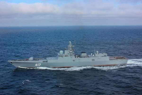 Uy lực công, thủ toàn diện của tàu hộ vệ tàng hình mới gia nhập hải quân Nga 3
