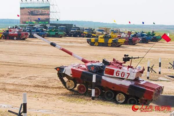 Ảnh ấn tượng tại giải đấu xe tăng quốc tế ở Nga 4