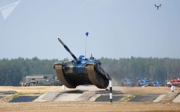 Ảnh ấn tượng tại giải đấu xe tăng quốc tế ở Nga 9