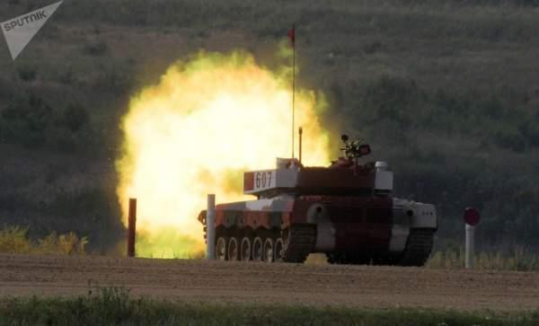 Ảnh ấn tượng tại giải đấu xe tăng quốc tế ở Nga 7