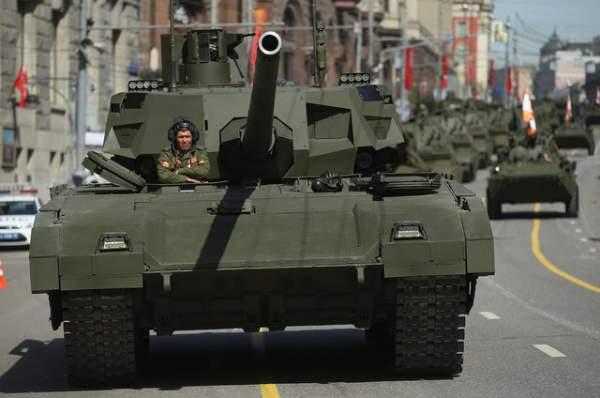 """Quân đội Nga """"chê"""" siêu tăng T-14 Armata đắt đỏ 1"""