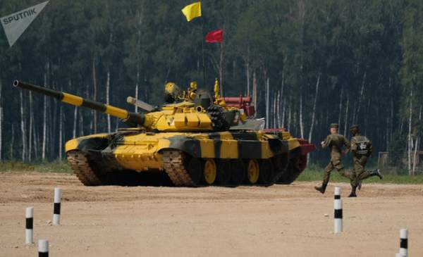 Ảnh ấn tượng tại giải đấu xe tăng quốc tế ở Nga 8