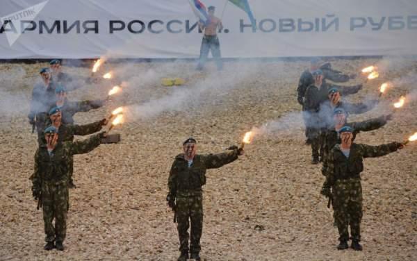 Những hình ảnh ấn tượng về lực lượng tinh nhuệ nhất nhì quân đội Nga 1