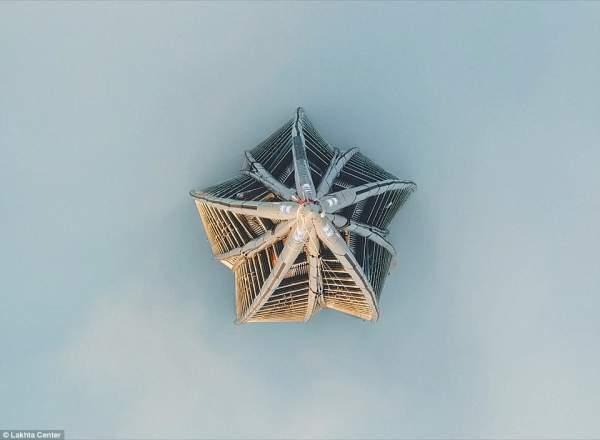 Cận cảnh tòa tháp chọc trời cao nhất châu Âu tại Nga 6