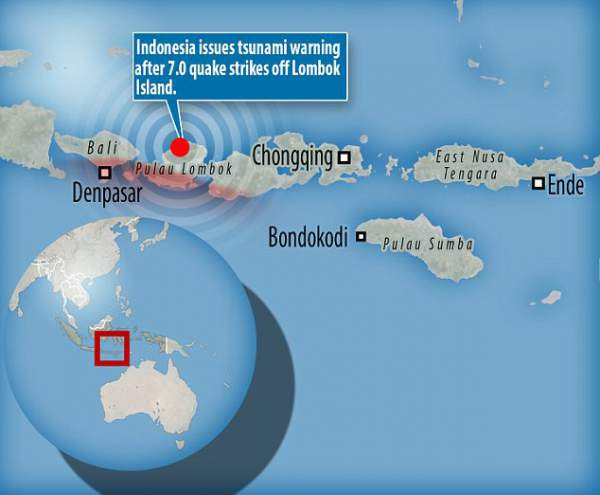 Động đất rung chuyển đảo du lịch Indonesia, ít nhất 82 người chết 8