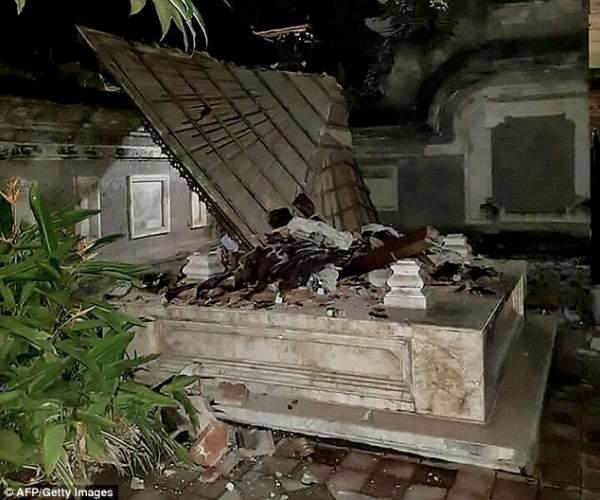Động đất rung chuyển đảo du lịch Indonesia, ít nhất 82 người chết 5