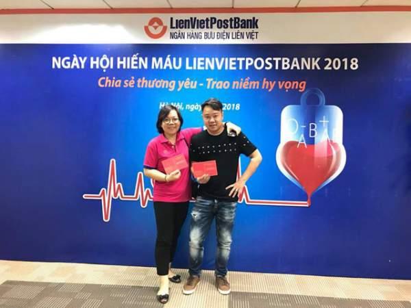 """Ngày hội Hiến máu nhân đạo LienVietPostBank 2018: """"Vẻ đẹp đời là cho đi"""" 2"""