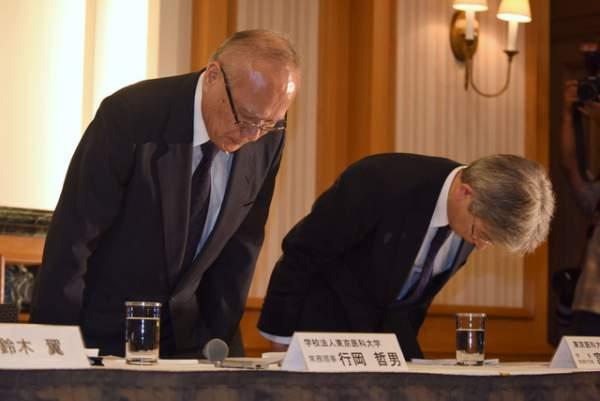 Lãnh đạo đại học Nhật Bản xin lỗi sau bê bối sửa điểm thi 1