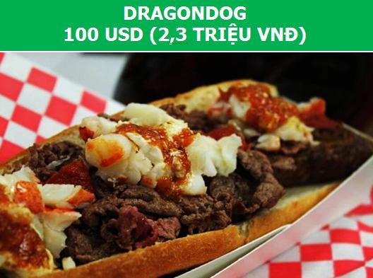 """Ngỡ ngàng với những """"siêu phẩm"""" hot dog đắt gấp cả ngàn lần """"phiên bản thường"""" 2"""