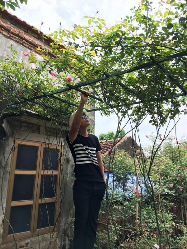 Ngỡ ngàng với ngôi nhà hoa hồng đẹp như cổ tích của ông bố trẻ ở Hưng Yên 12