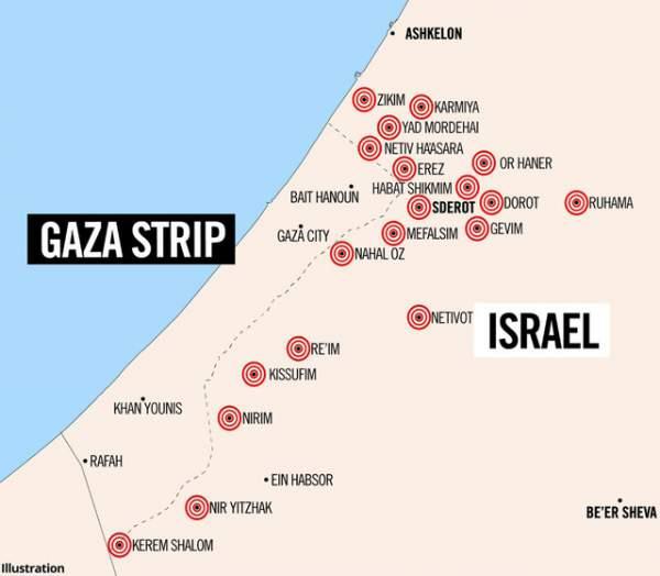 Video 150 tên lửa từ dải Gaza ồ ạt trút xuống Israel 2
