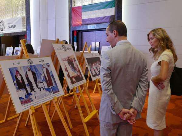 UAE khai trương triển lãm tưởng nhớ người sáng lập đất nước 2