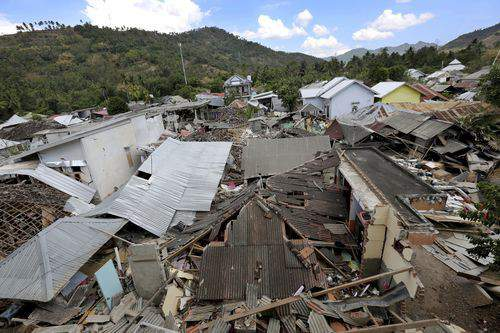 Thảm họa động đất tại Indonesia: Số người chết tăng lên 380 7