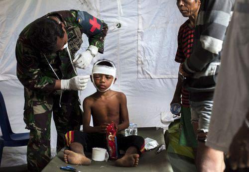 Thảm họa động đất tại Indonesia: Số người chết tăng lên 380 11