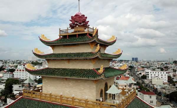 Ngôi chùa có chánh điện cao nhất Việt Nam đẹp như tranh ở Sài Gòn 2